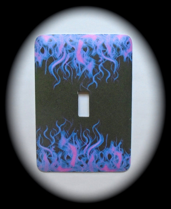 Single Switch Plate ~ Flames