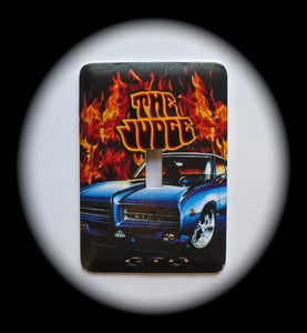Metal Single Toggle Switch Plate Cover ~ Pontiac GTO - The Judge - Just Switch It 2