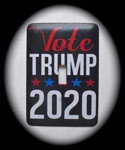 Single Switch Plate ~ Vote Trump 2020