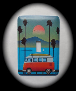 Metal Single Toggle Switch Plate Cover ~ Volkswagen Bus - Just Switch It 2