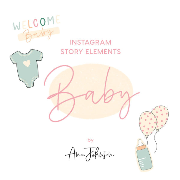 Instagram Story Elements - BABY ELEMENTS