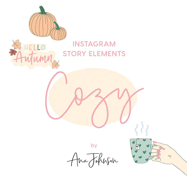 Instagram Story Elements - COZY ELEMENTS