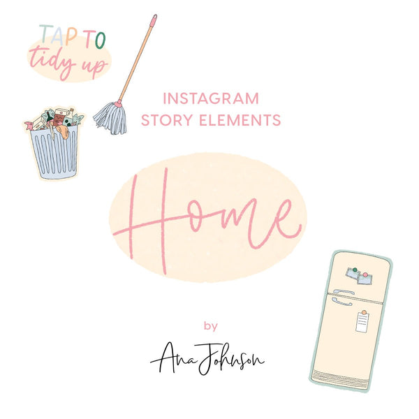 Instagram Story Elements - HOME ELEMENTS