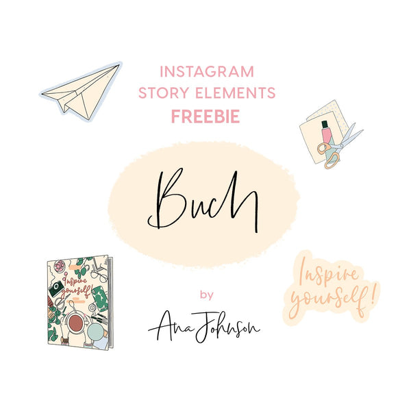 Instagram Story Elements - BUCH SPECIAL ELEMENTS
