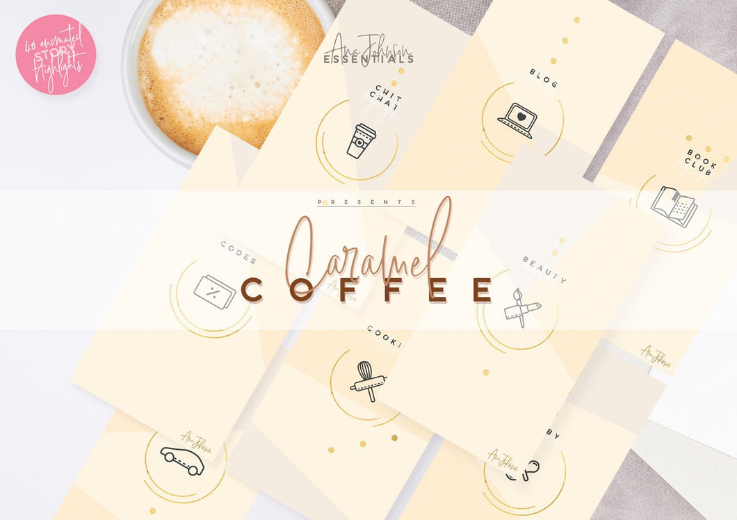Caramel Coffee - Story Highlights