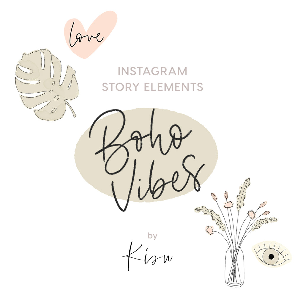 Story Elements - BOHO VIBES by Kisu