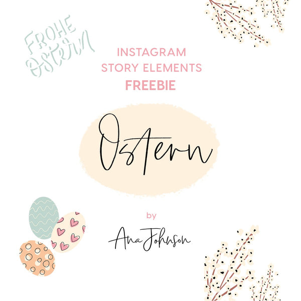Instagram Story Elements - OSTERN SPECIAL ELEMENTS
