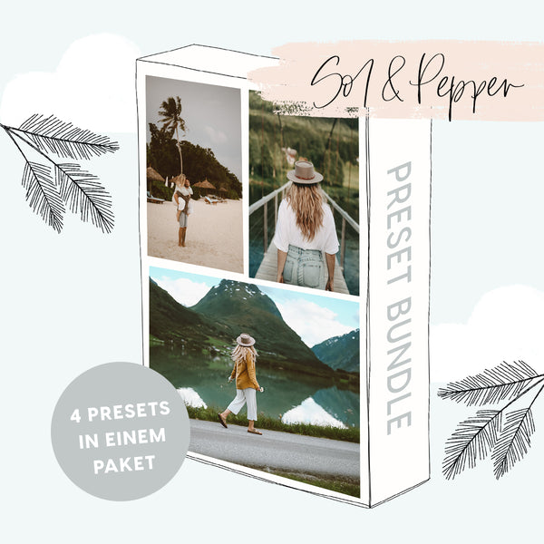 SOL & PEPPER PRESET COLLECTION - 4 in 1 Preset Bundle!