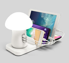 Load image into Gallery viewer, Phone Charger Mushroom Night Lamp