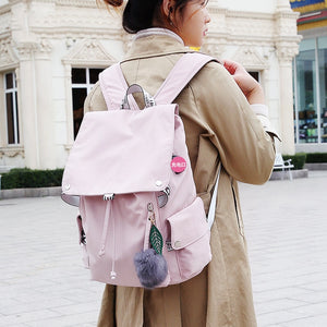 Multi-Pocket Backpack  Students Backpack School Bag Fashion