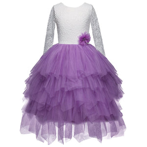 Princess Unicorn Dress Children Costume Kids Clothes