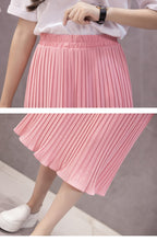 Load image into Gallery viewer, Pleated Chiffon Skirt Comfortable To Wear