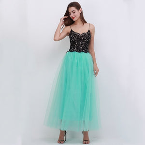 Fashion Womens Lace Princess Fairy Style 4 layers
