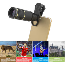 Load image into Gallery viewer, Telephoto lens with tripod+ 5in1