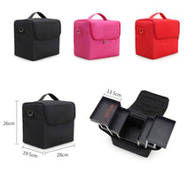 Load image into Gallery viewer, Cosmetic Bag Makeup Organizer Large Capacity