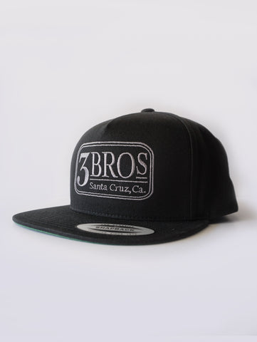 BLUE COLLAR SNAPBACK, BLACK