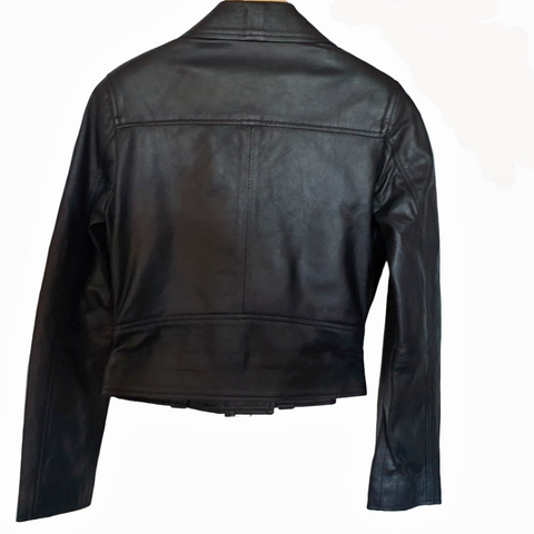 Image of Womens NewRock Premium Grade Soft Nappa Leather Jacket Size XS