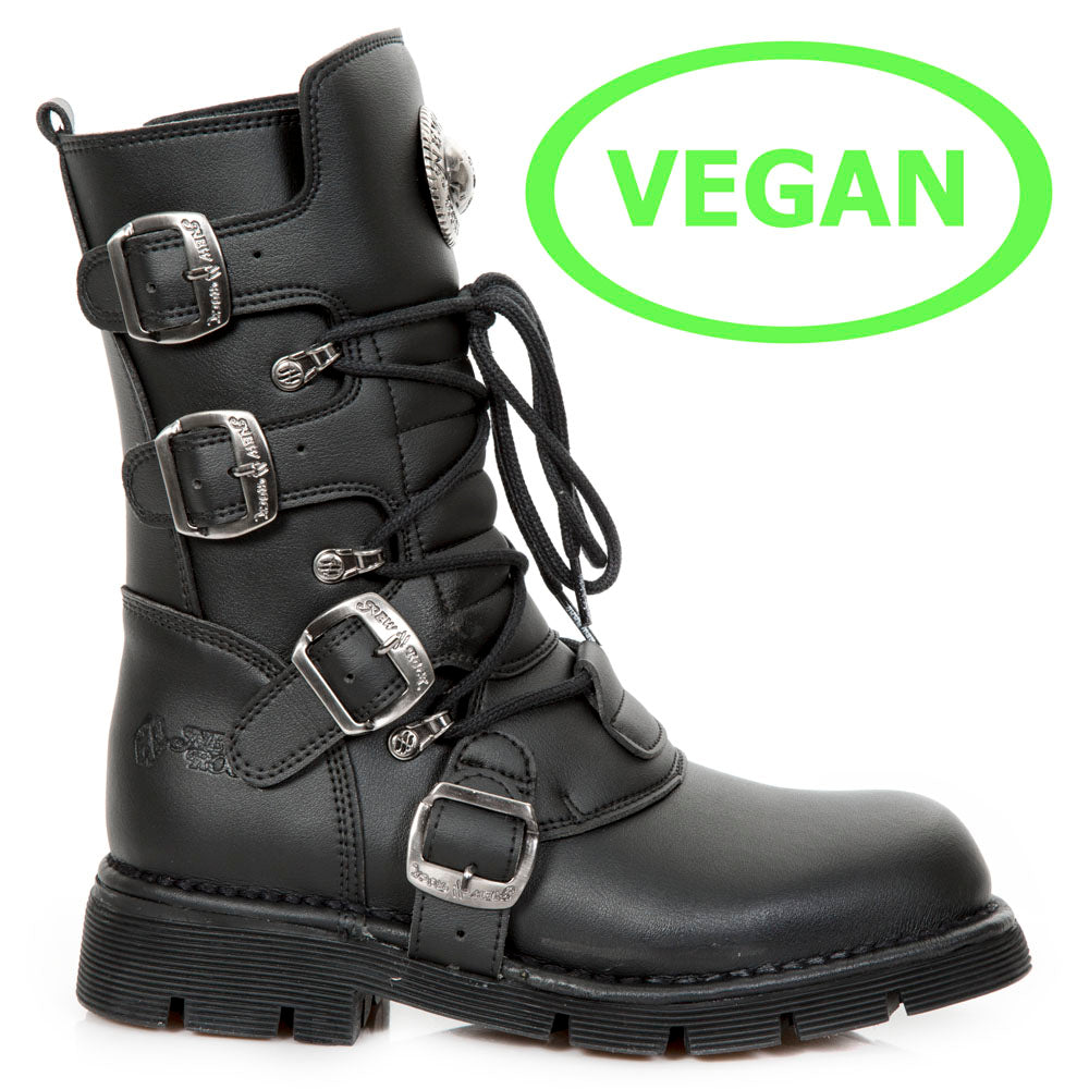 New Rock Boots  Shoes Comfort Light New Rock Boots Shoes Vegan Collection M.1473-V1