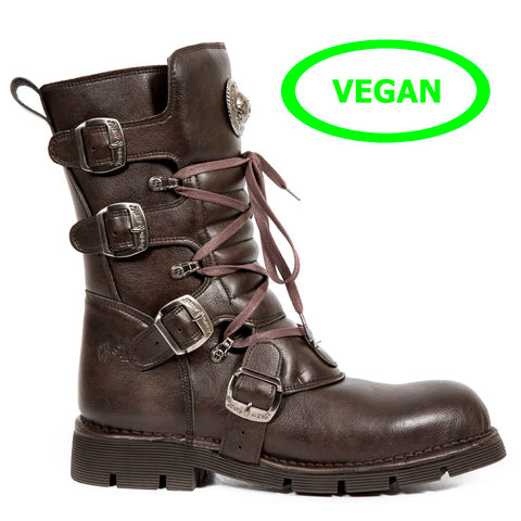 Image of New Rock Boots  Shoes Comfort Light New Rock Boots Shoes Vegan Collection M.1473-V3
