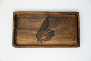 Customized Engraved Wooden Tray