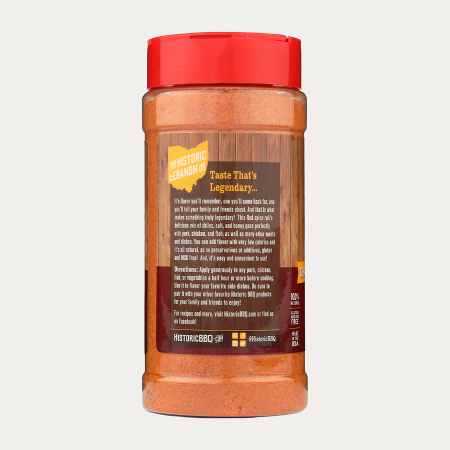 Red - Pork & Poultry - 11oz