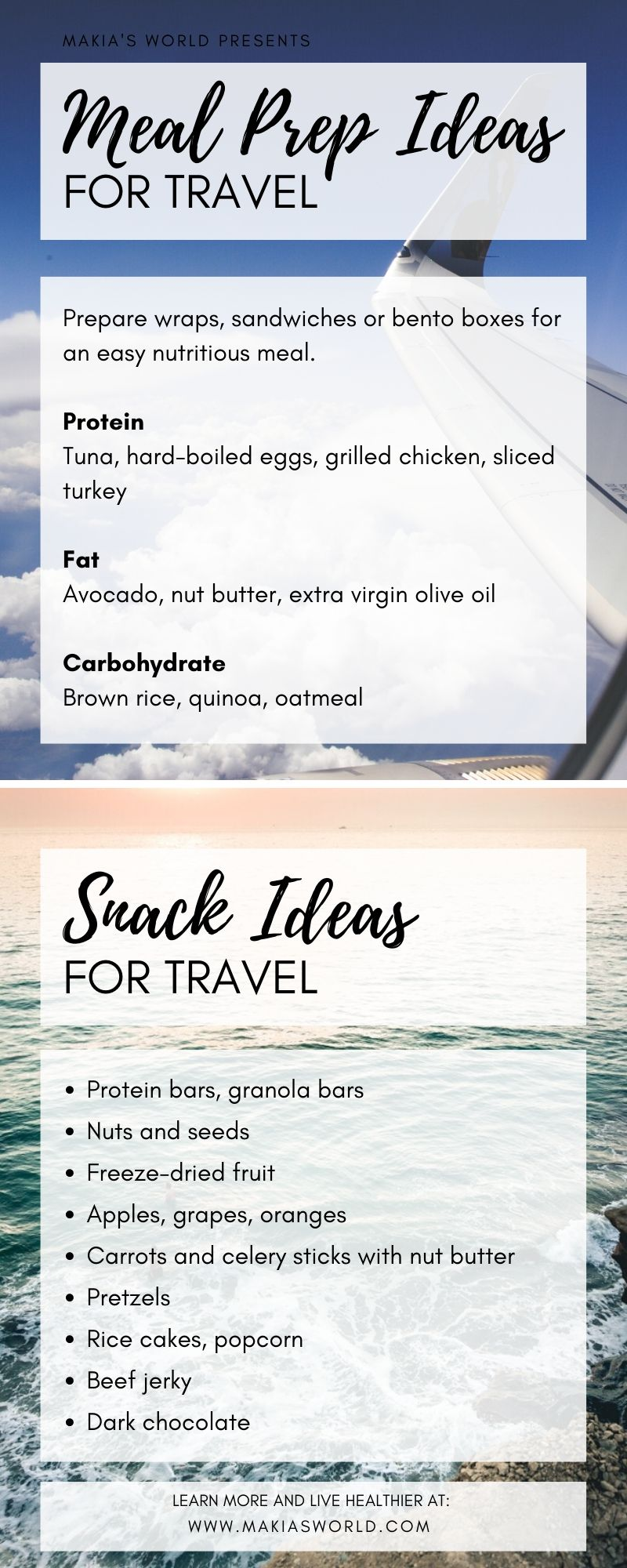How to Meal Prep for Your Travels