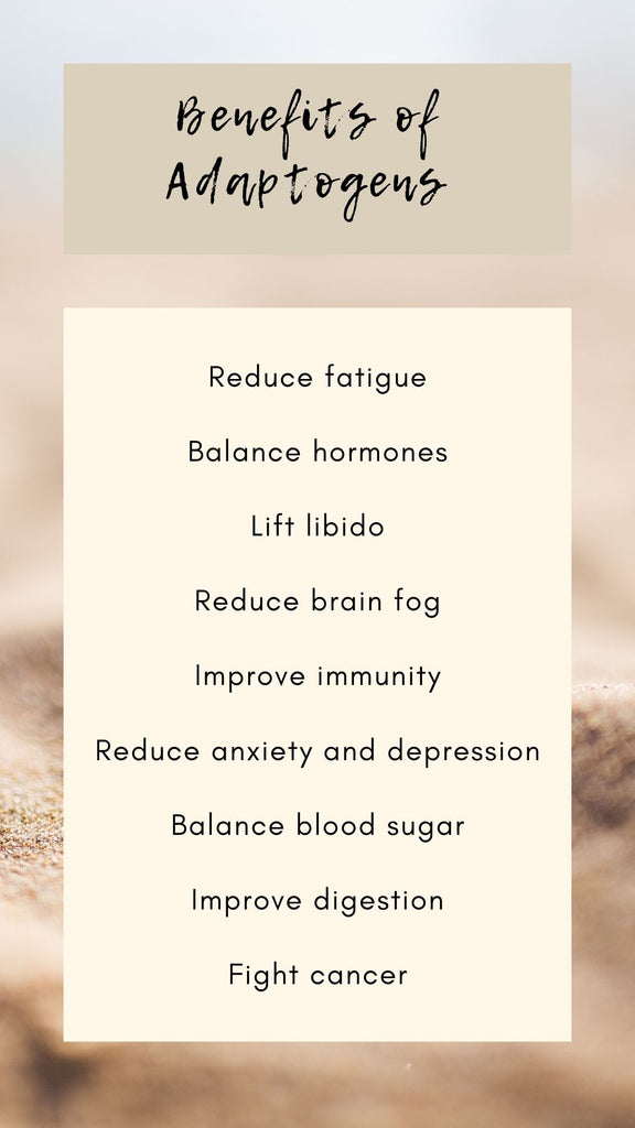 Benefits of Adaptogens