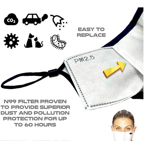 pollution mask healthy breathing