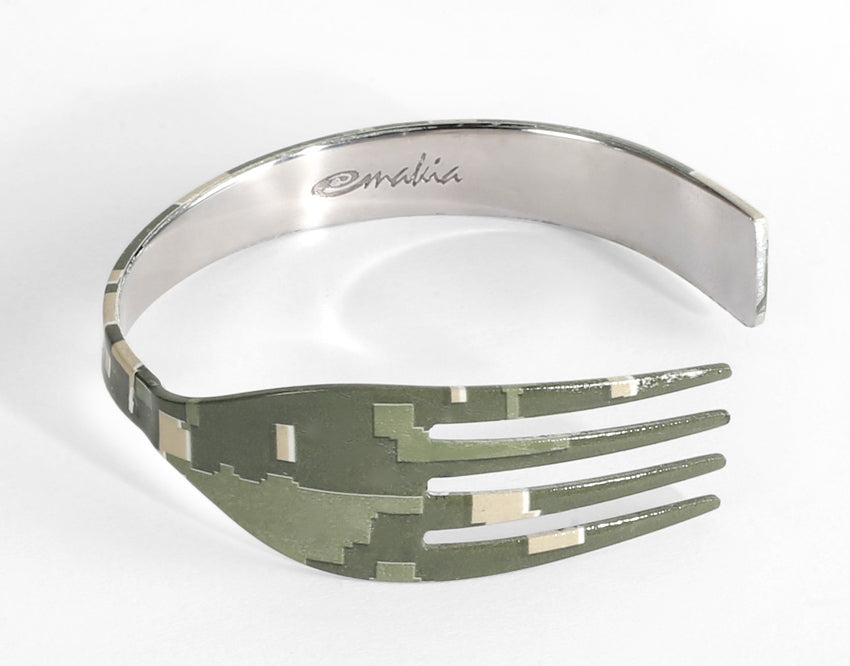 NAPKIN RINGS - CAMOUFLAGE - Pack of 4