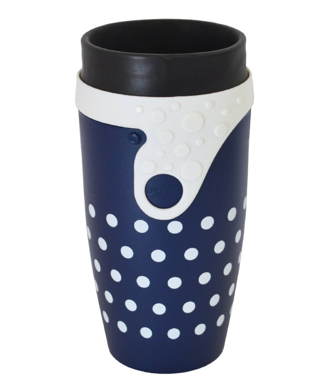 Reusable TWIZZ Mug | 350mL | Polka | Makia's World