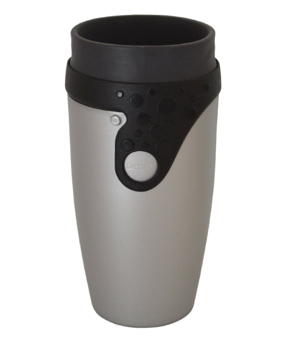 Reusable TWIZZ Coffee Cup | 350mL | Silver Flash | Makia's World