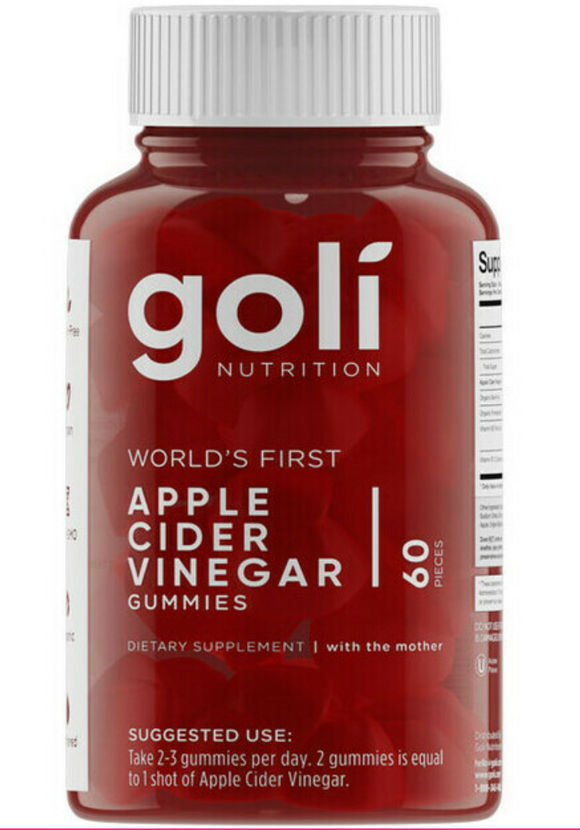 GOLI - Apple Cider Vinegar Gummies