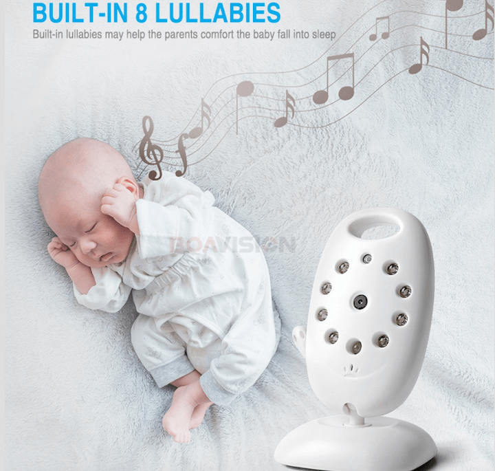 Baby Home Security Alarm Night Vision Video Camera