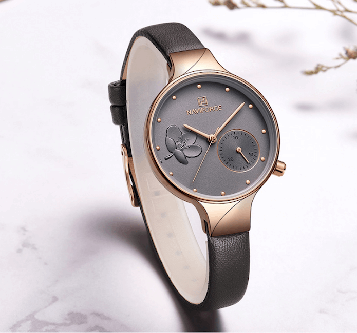 Watches For Women Chic Luxury Quartz Leather Band