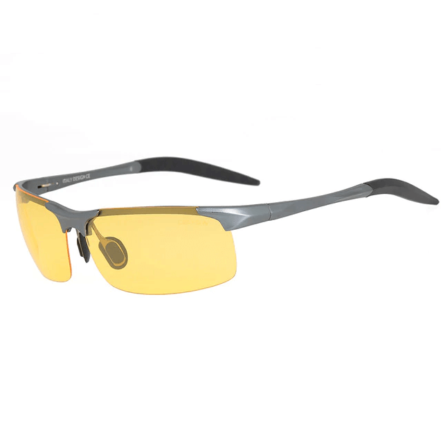 HD Night Vision Polarized Aluminum Alloy Safety Sunglasses