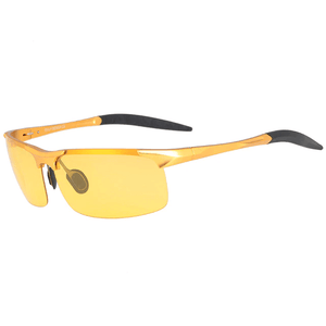 All Weather HD Night Vision Polarized Aluminum Alloy Goggles