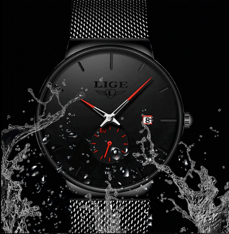 Image of Men or Women Watches Ultra Thin Mesh Luxury Fashion Style