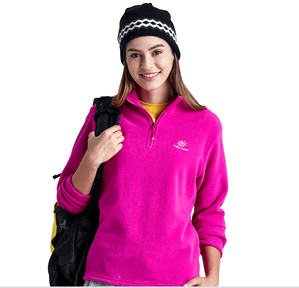 Women Thermal Fleece Outdoor Soft Shell Jacket S M L XL Plus