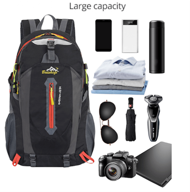 40L Light-Medium Capacity Hiking Backpack and Travel