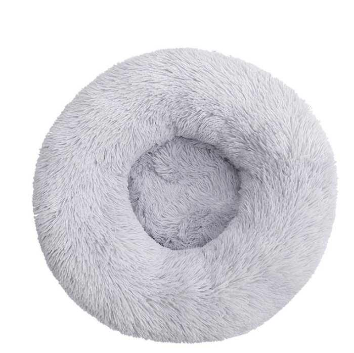 Ultra Soft Donut Cuddler Dog and Cat Bed