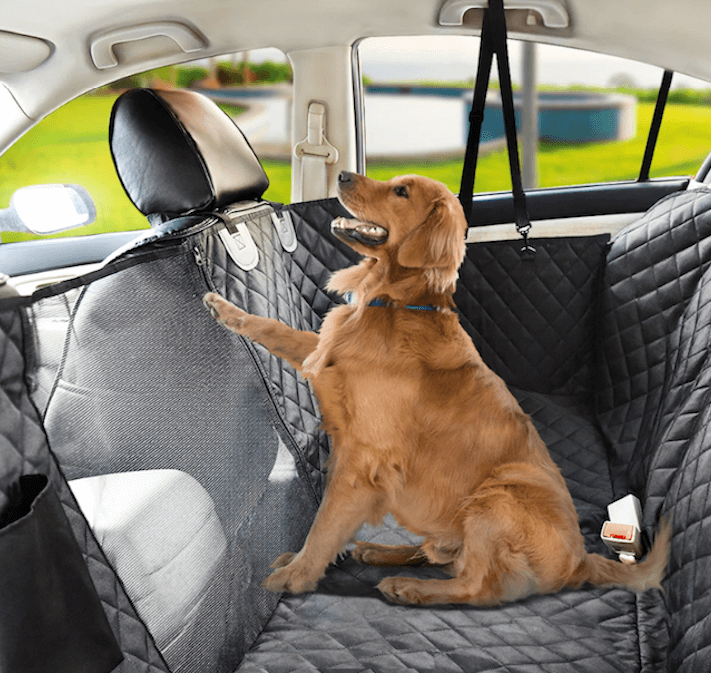 Dog's Waterproof Backseat Hammock Car Protector Cover