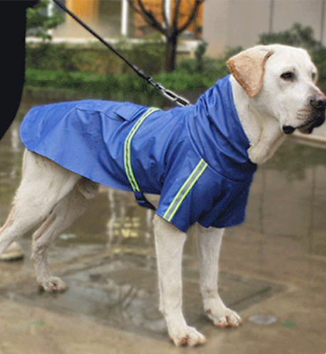 Reflective Dog Raincoats Small Large Jacket Breathable Puppy Clothes