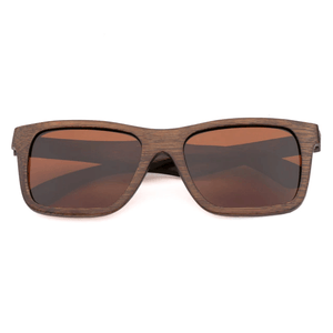 Handmade Bamboo Sunglasses for Men UV400 Polarized Lens