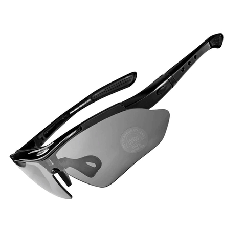 Image of New Polarized Cycling Sunglasses Sports Bicycle Glasses 5 Lens
