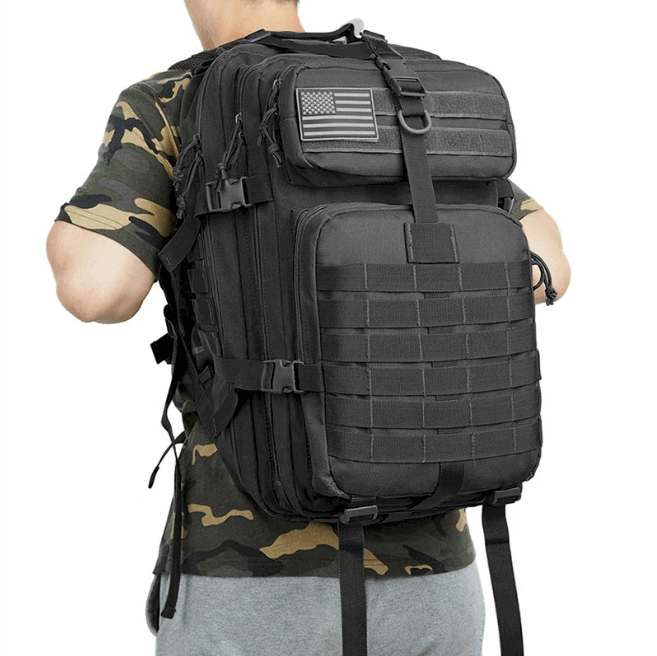 50L Quality TAC 900D Waterproof Mid Size Backpack