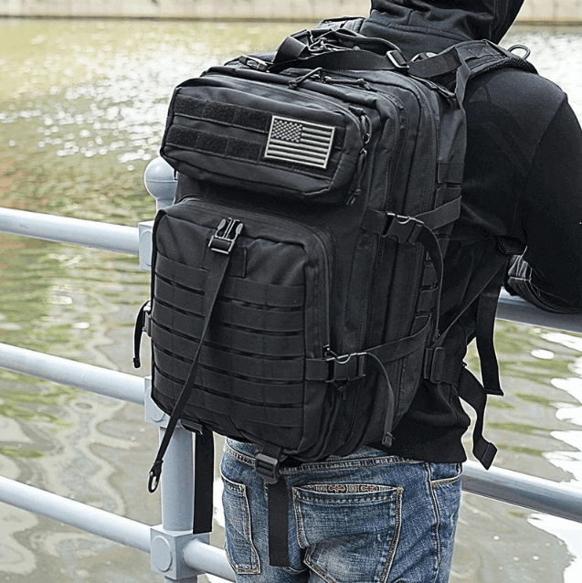 50L Quality Tactical Waterproof Softpack Backpack-Free Item