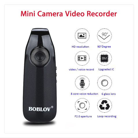 Image of Mini Camera 1080P Chip Slot Portable Wireless Camcorder