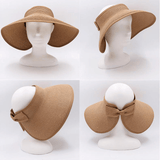 Foldable Large Wide Brim Sun Hat for Women Several Colors