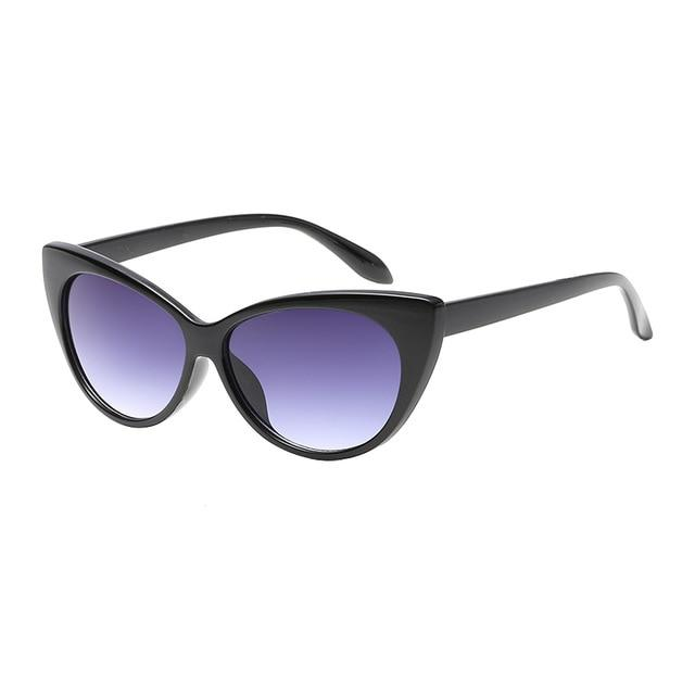 Classy Sunglasses For Women Cat Eye Anti Reflective Titanium
