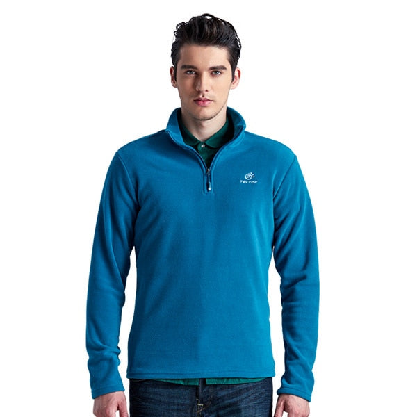 Outdoor Soft Jacket for Men Thermal Fleece S M L Plus